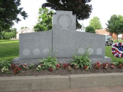 Adjacent Memorial for WWI, WWII, Korea and Vietnam image. Click for full size.