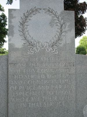 Center Text of Adjacent Memorial image. Click for full size.