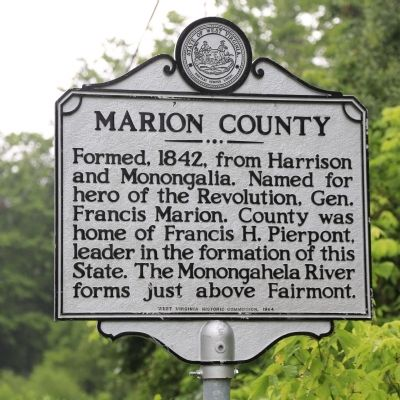 Marion County Face of Marker image. Click for full size.