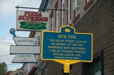 1879 Fire Marker image. Click for full size.