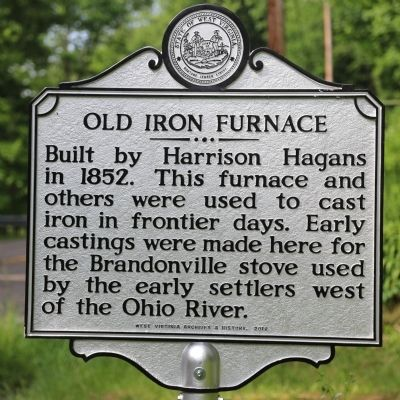 Old Iron Furnace Marker image. Click for full size.