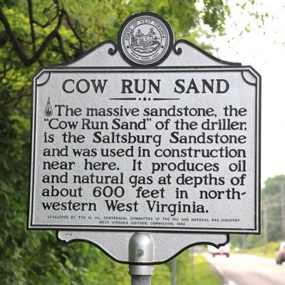 Cow Run Sand Marker image. Click for full size.