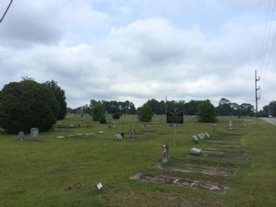 African-American Rosemere Cemetery image. Click for full size.