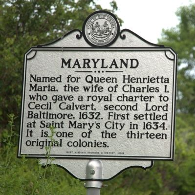 Maryland Face of Marker image. Click for full size.