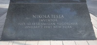 Nikola Tesla image. Click for full size.