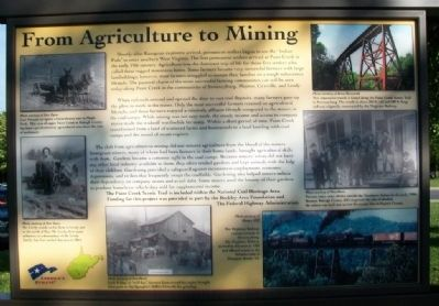 From Agriculture to Mining Marker image. Click for full size.