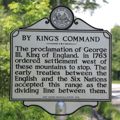 By King's Command Marker image. Click for full size.