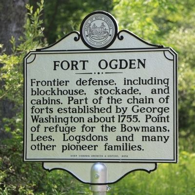 Fort Ogden Marker image. Click for full size.