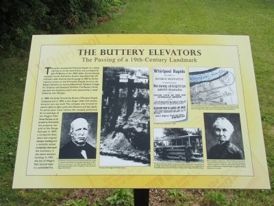 The Buttery Elevators Marker image. Click for full size.
