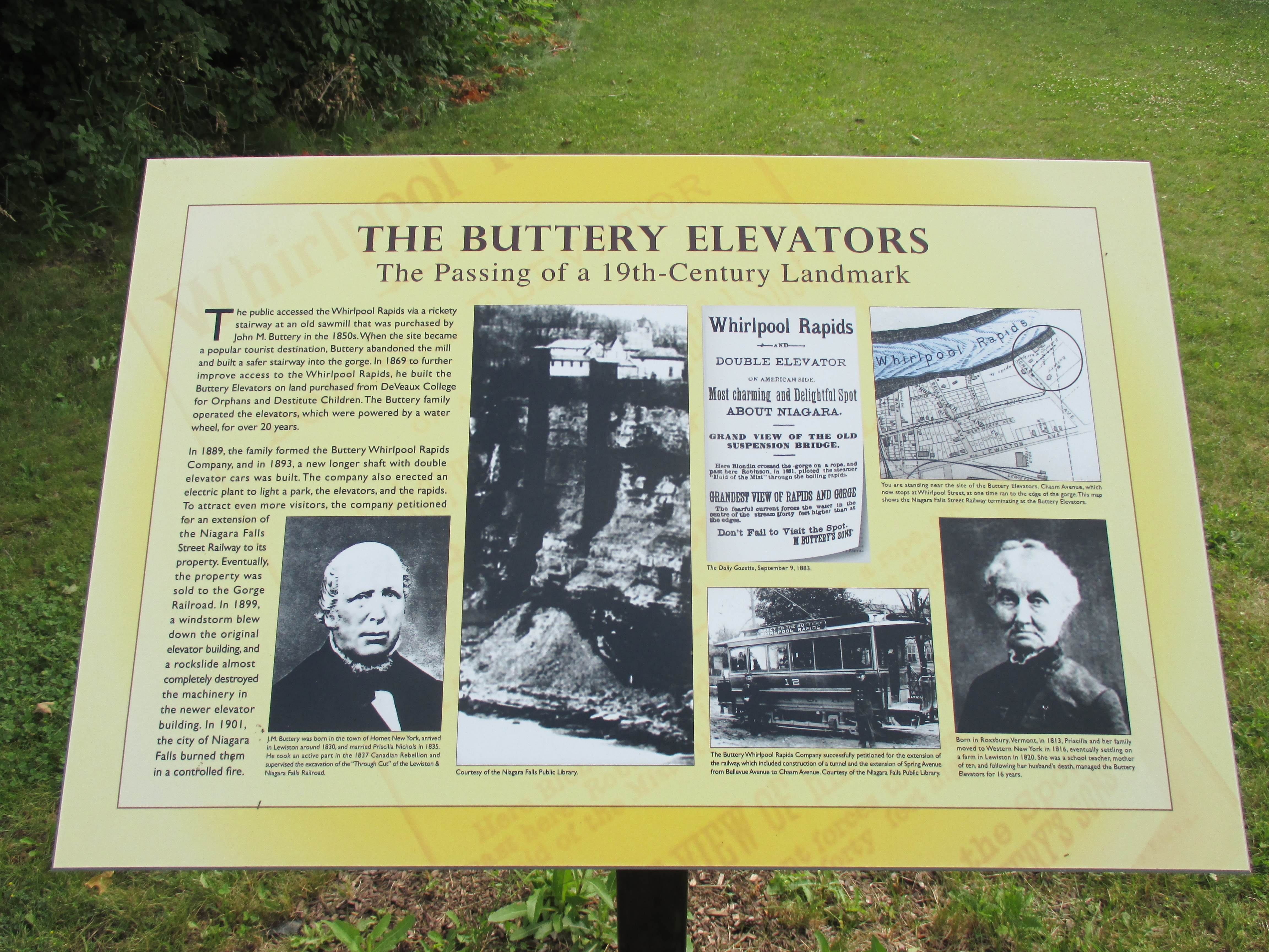 The Buttery Elevators Marker