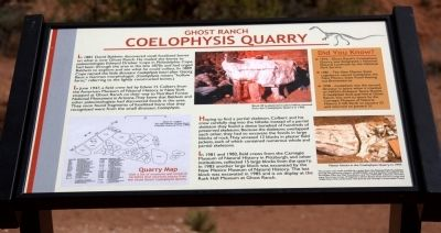 Coelophysis Quarry Marker image. Click for full size.