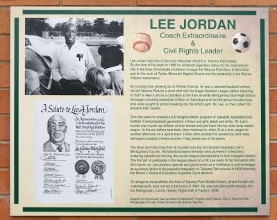 Lee Jordan Marker image. Click for full size.