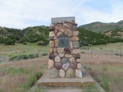 Salt Creek Canyon Massacre Marker image. Click for full size.