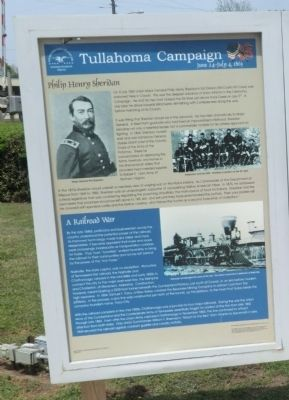 Tullahoma Campaign Marker image. Click for full size.