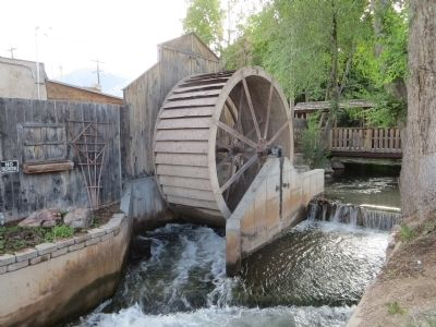 The Old Mill Wheel image. Click for full size.