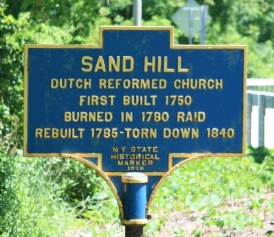 Sand Hill Marker image. Click for full size.