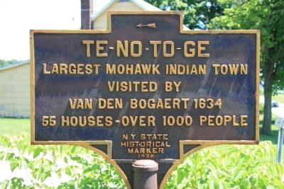 Te-No-To-Ge Marker image. Click for full size.
