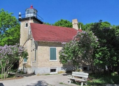 Eagle Bluff Lighthouse image. Click for full size.