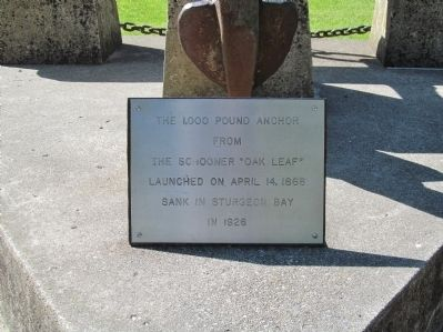 Anchor Plaque image. Click for full size.