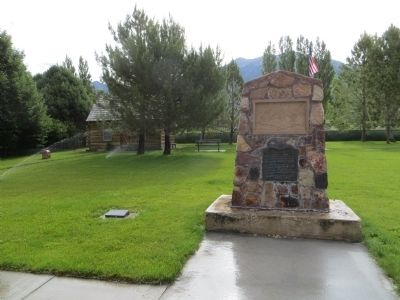 Old Pioneer Cemetery Marker image. Click for full size.