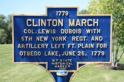 Clinton March Marker image. Click for full size.