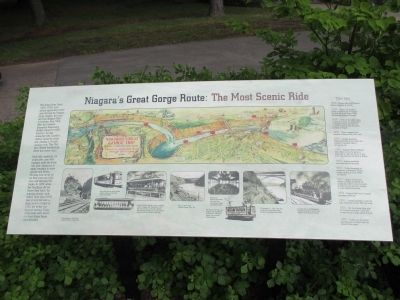 The Great Gorge Route Marker image. Click for full size.