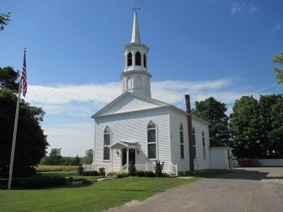 Front of West Middlebury Baptist Church image. Click for full size.
