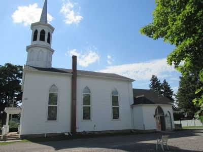 East Side of West Middlebury Baptist Church image. Click for full size.