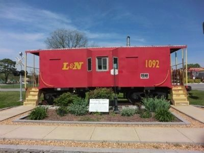 The Red Caboose image. Click for full size.