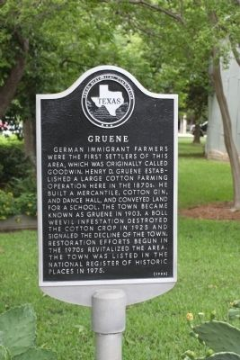 Gruene Marker image, Touch for more information