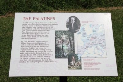The Palatines Marker image. Click for full size.