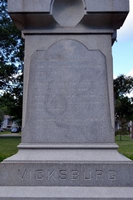 East Panel of Monument image. Click for full size.