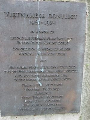 Niagara County Medal of Honor Monument Marker image. Click for full size.