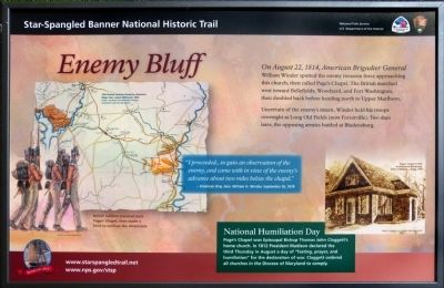 Enemy Bluff Marker image. Click for full size.