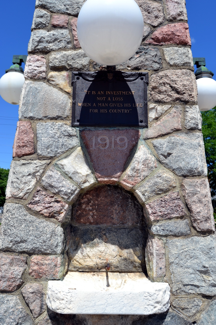 Dowagiac World War I Memorial