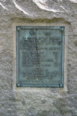 19th Michigan Infantry Memorial image. Click for full size.