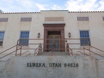 Eureka Post Office and Marker image. Click for full size.