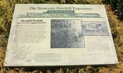 The Tennessee Overhill Experience Marker image. Click for full size.