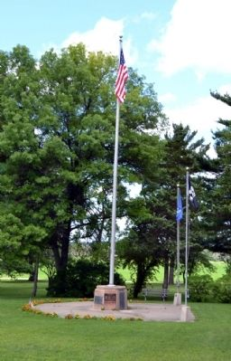 Cass County Veterans Memorial image. Click for full size.