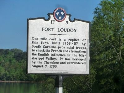 Fort Loudon Marker image. Click for full size.