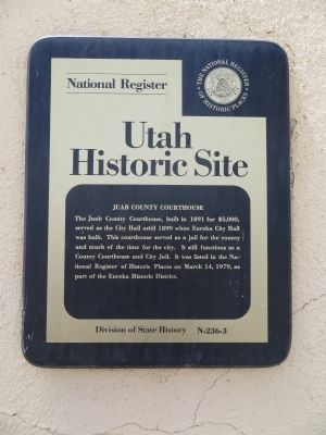 Juab County Courthouse Marker image. Click for full size.