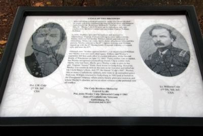 Culp Brothers Memorial Marker image. Click for full size.
