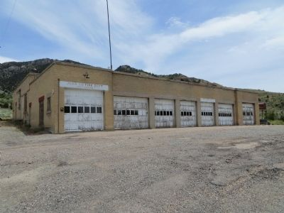 Mammoth Fire Station image. Click for full size.