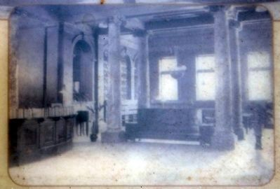 Interior of Lobby of<br>Elkhart Carnegie Public Library image. Click for full size.