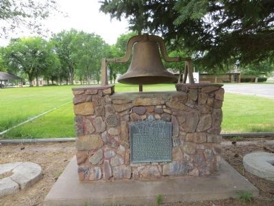 Settlement of Scipio Marker and Bell image. Click for full size.