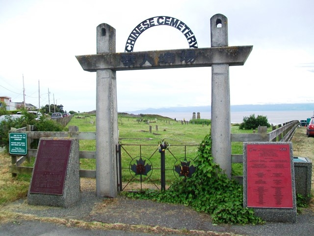 Chinese Cemetery Entrance