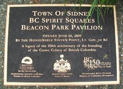 Beacon Park Pavilion Marker image. Click for full size.