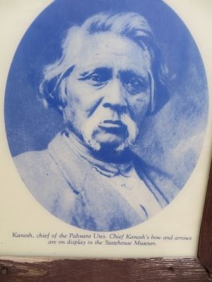 Kanosh, Chief of the Pahvant Utes image. Click for full size.