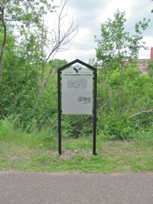 Eau Claire's Connection to the Soo Line Railroad Marker image. Click for full size.