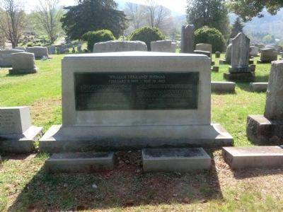 Thomas's Tombstone-Rear view image. Click for full size.